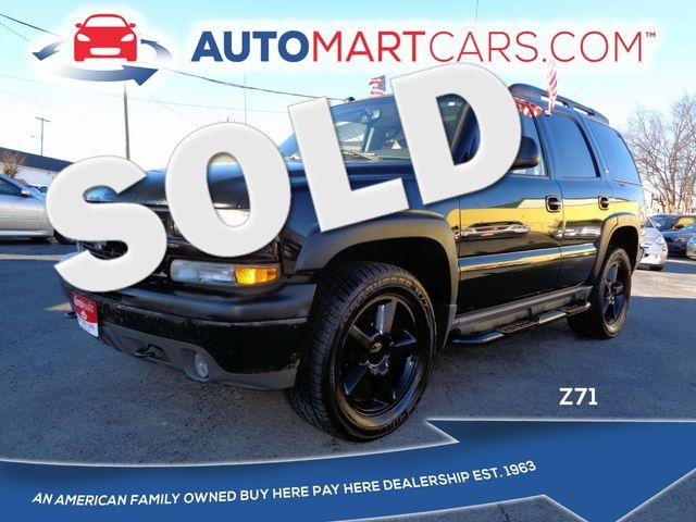2005 Chevrolet Tahoe Z71   Nashville, Tennessee   Auto Mart Used Cars Inc. in Nashville Tennessee
