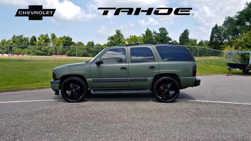 2005 Chevrolet Tahoe LT LEATHER CUSTOM WRAP 26inch WHEELS | Palmetto, FL | EA Motorsports in Palmetto, FL