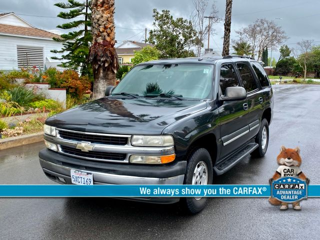 2005 Chevrolet TAHOE LS AUTOMATIC SERVICE RECORDS