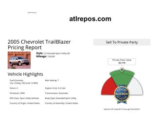 2005 Chevrolet TrailBlazer LS Salt Lake City, UT