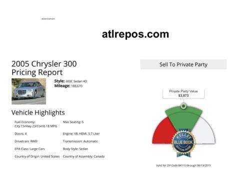 2005 Chrysler 300 300C in Salt Lake City, UT