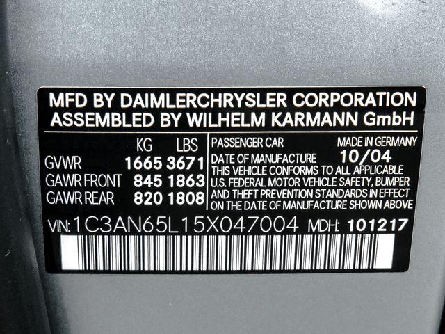 2005 Chrysler Crossfire Limited Burbank, CA 22