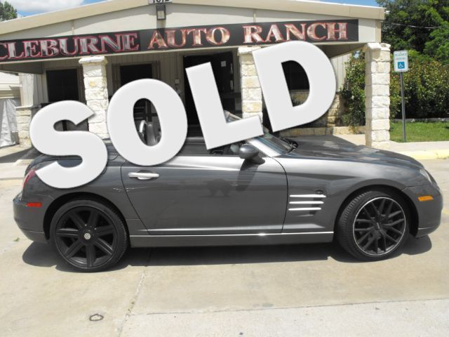 2005 Chrysler Crossfire Limited Cleburne, Texas