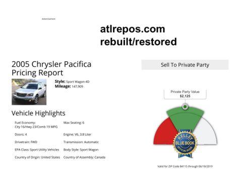 2005 Chrysler Pacifica Touring in Salt Lake City, UT