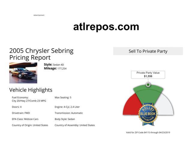 2005 Chrysler Sebring Salt Lake City, UT