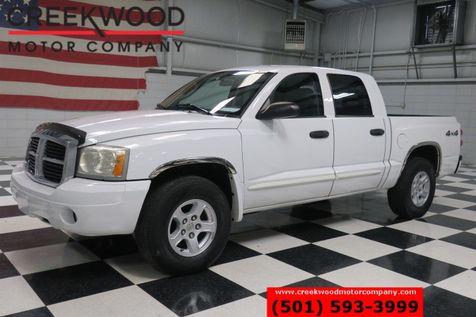 2005 Dodge Dakota SLT 4x4 V8 White Automatic Crew Cab Low Miles NICE in Searcy, AR