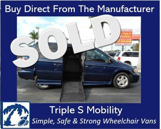 2005 Dodge Grand Caravan Sxt Wheelchair Van Handicap Ramp Van Pinellas Park, Florida