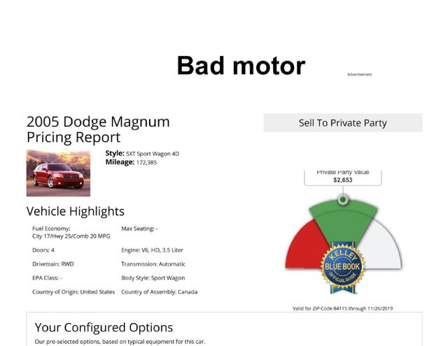 2005 Dodge Magnum SE Salt Lake City, UT