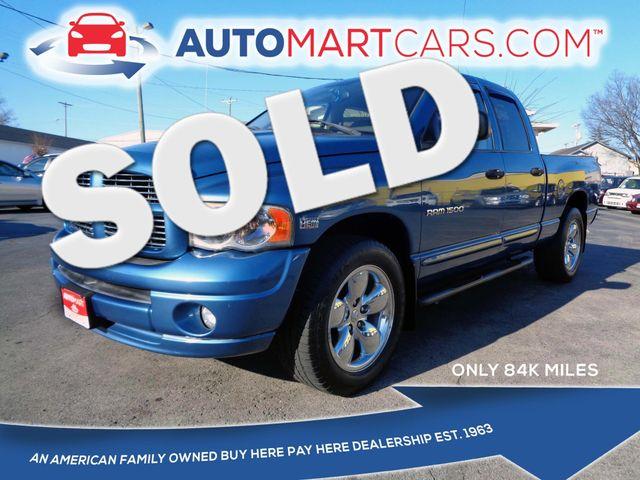 2005 Dodge Ram 1500 SLT | Nashville, Tennessee | Auto Mart Used Cars Inc. in Nashville Tennessee