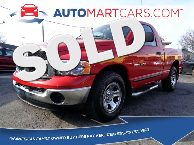 2005 Dodge Ram 1500 ST   Nashville, Tennessee   Auto Mart Used Cars Inc. in Nashville Tennessee