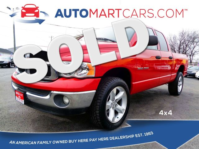 2005 Dodge Ram 1500 SLT   Nashville, Tennessee   Auto Mart Used Cars Inc. in Nashville Tennessee