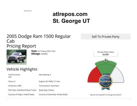 2005 Dodge Ram 1500 SLT in Salt Lake City, UT