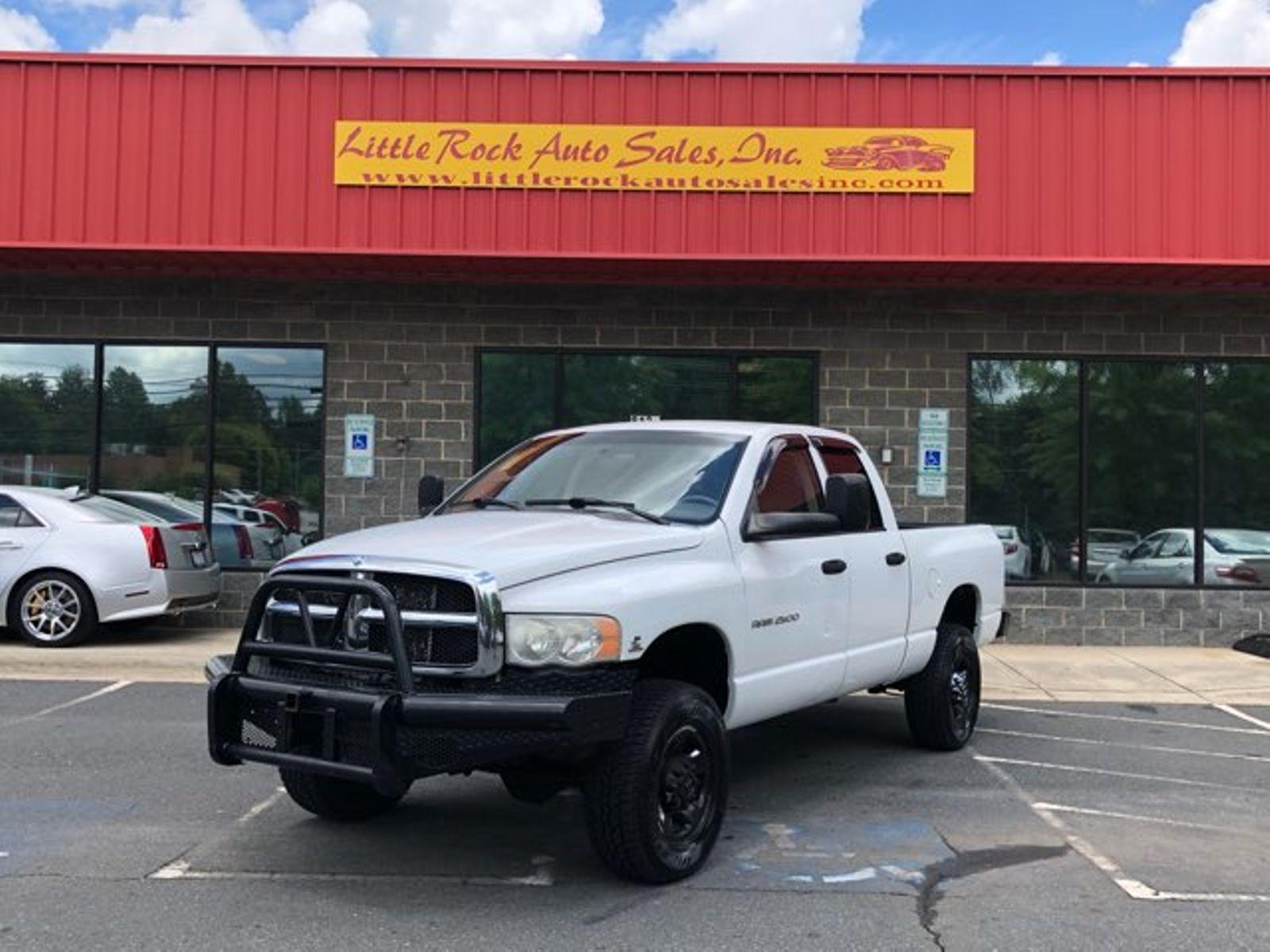 2005 Dodge Ram 2500 ST city NC Little Rock Auto Sales Inc