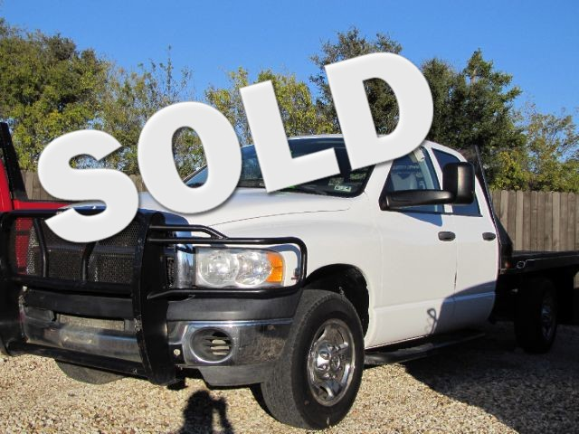 2005 Dodge Ram 2500 ST Quad Cab Short Bed 2WD