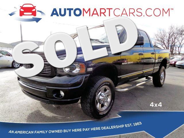 2005 Dodge Ram 2500 SLT   Nashville, Tennessee   Auto Mart Used Cars Inc. in Nashville Tennessee