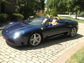 2005 Ferrari 360 SPYDER Chesterfield, Missouri 1