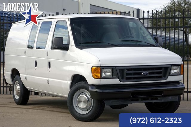 2005 Ford E250 Cargo Van One Owner Clean Carfax Shelves Econoline 77K
