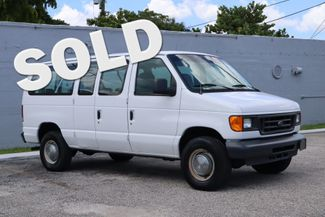 2005 Ford E250 Passenger Van Hollywood, Florida