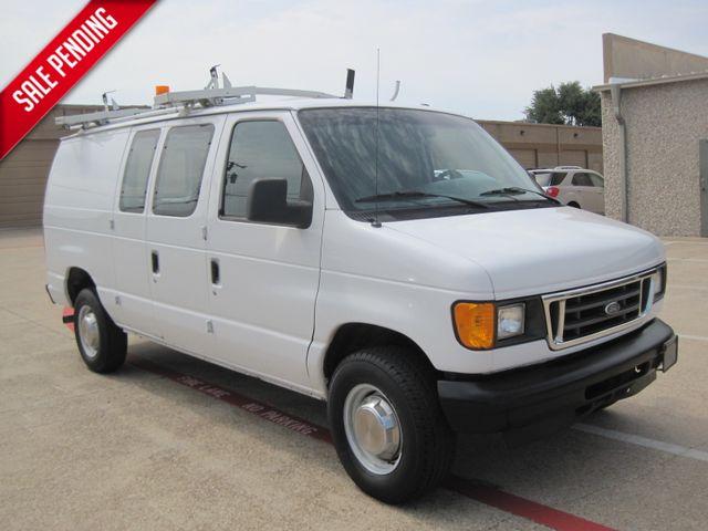 2005 Ford E250 Cargo Van, Racks/Bins/L Rack 1 Owner, Serv/History in Plano Texas, 75074