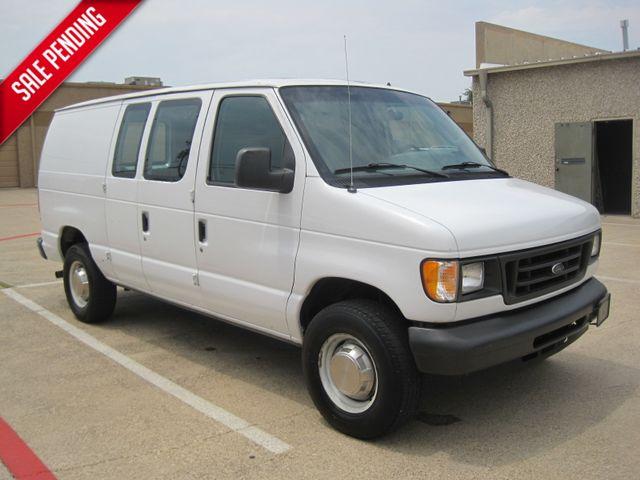 2005 Ford E250 Cargo Van, 1 Owner,Low Miles, Serv/history, Racks.