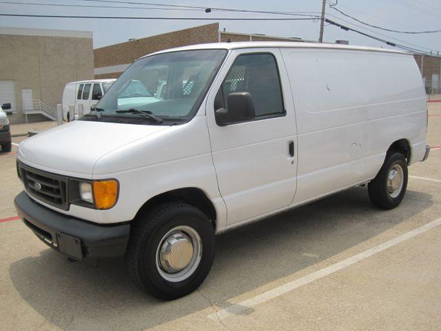 2005 Ford E250 Cargo Van, 1 Owner,Low Miles, Serv/history, Racks. in Plano Texas, 75074