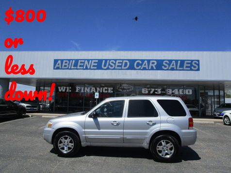 2005 Ford Escape Limited in Abilene, TX