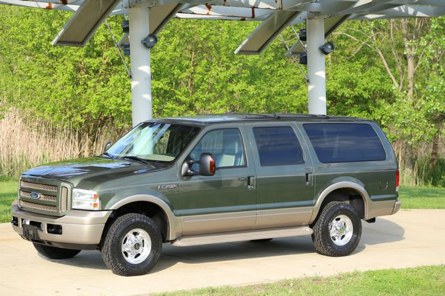2005 Ford Excursion Eddie Bauer TURBO DIESEL 65K ACTUAL MILES 4X4 DVD