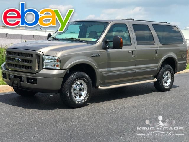 2005 Ford Excursion Limited TURBO DIESEL 51K MILE 1-OWNER 4X4 DVD WOW