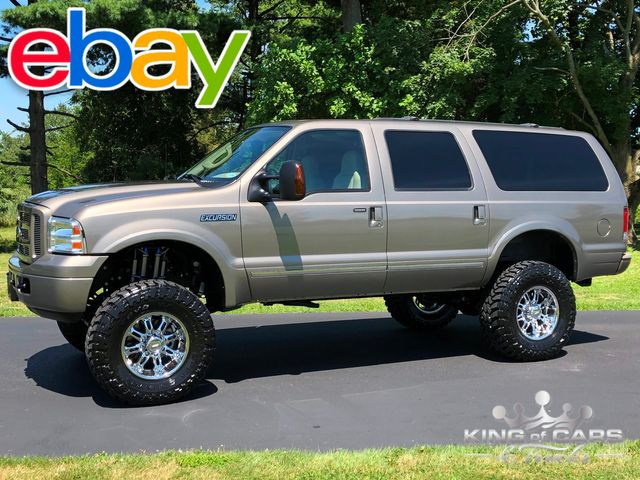 2005 Ford Excursion Limited TURBO DIESEL 7K MILES 1-OWNER 4X4 DVD WOW TIME CAPSULE