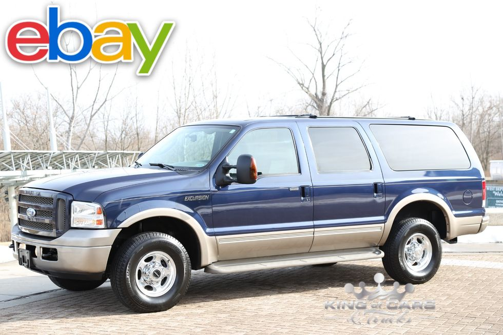 2005 Ford Excursion Eddie Bauer 6 0 Diesel 4x4 Only 63k Original Miles Westville New Jersey King Of Cars And Trucks