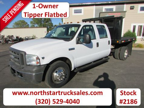 2005 Ford F-350 4x2 Crew-Cab Tipper Flatbed  in St Cloud, MN