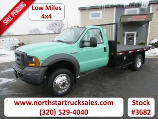 2005 Ford F-550 4x4 Flatbed Truck in St Cloud, MN