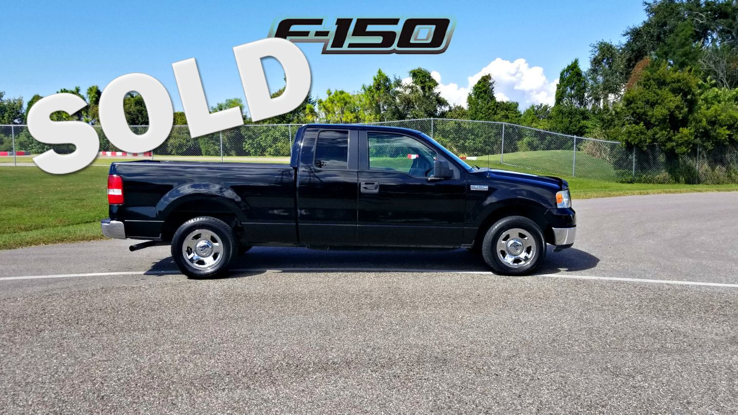 2005 ford f 150 xlt low miles f 150 truck palmetto