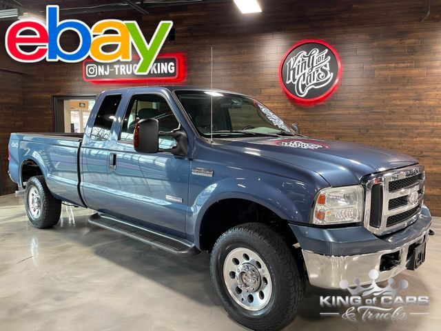 2005 Ford F250 Xlt Diesel 4X4 EXT CAB 8' BED LOW MILES EXCELLENT