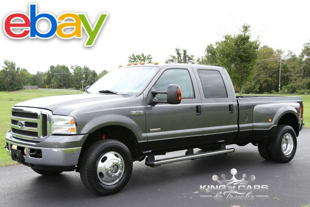 2005 Ford F350 Crew Cab DUALLY LARIAT 6.0L DIESEL 109K MILES 4X4 MINT in Woodbury, New Jersey 08093