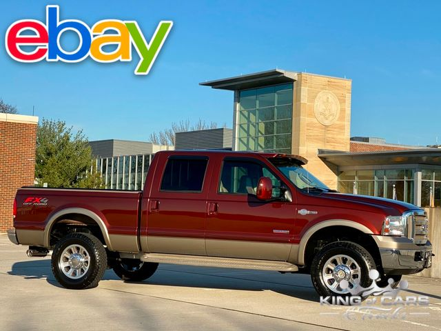 2005 Ford F350 King Ranch CREW SHORT BED 4X4 DIESEL RARE LOW MILES