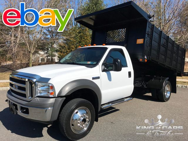 2005 Ford F450 R-Cab Drw 4x4 6.0L DIESEL 12' LANDSCAPE DUMP 48K MILES in Woodbury, New Jersey 08096