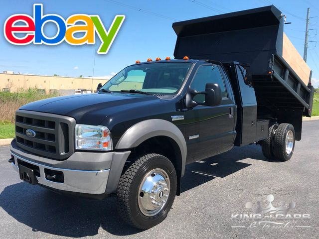 2005 Ford F550 4x4 6.0l Diesel DUMP LPACK BOX 2-OWNER ONLY 68K MILES