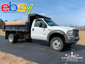 2005 Ford F550 4x4 6.0l DIESEL MASON DUMP BODY LOW MILES WOW in Woodbury, New Jersey 08093