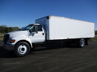 2005 Ford F650 24FT BOX TRUCK DIESEL CAT UNDER CDL Lake In The Hills, IL 0