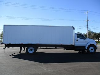 2005 Ford F650 24FT BOX TRUCK DIESEL CAT UNDER CDL Lake In The Hills, IL 5