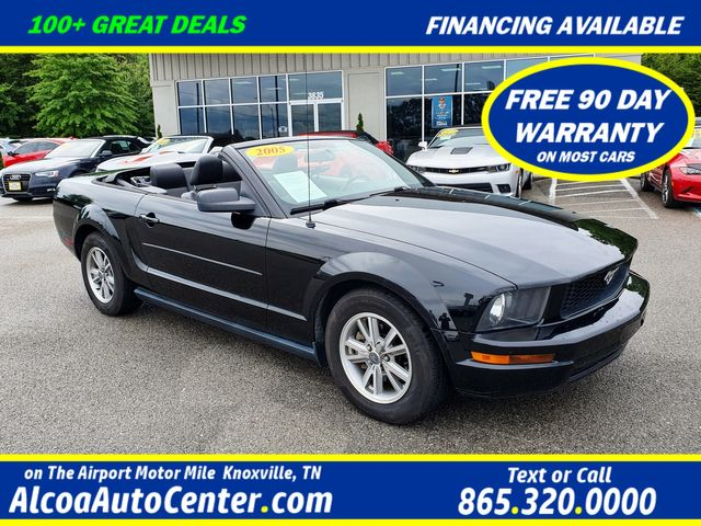 """2005 Ford Mustang Premium 4.0L V6 Power Convertible Top/Leather/16"""""""