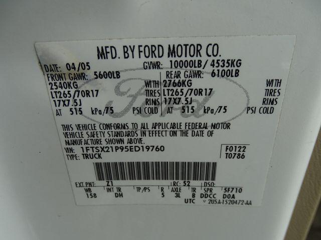 2005 Ford Super Duty F-250 XLT Corpus Christi, Texas 39