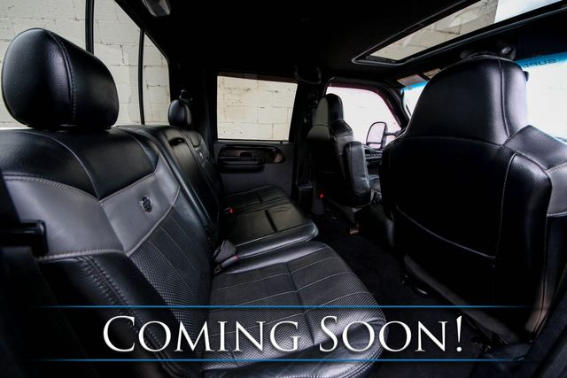 2005 Ford F-250 Super Duty Harley-Davidson Turbo Diesel 4x4 w/Heated Seats, Moonroof and 2-Tone Interior in Eau Claire, Wisconsin 54703