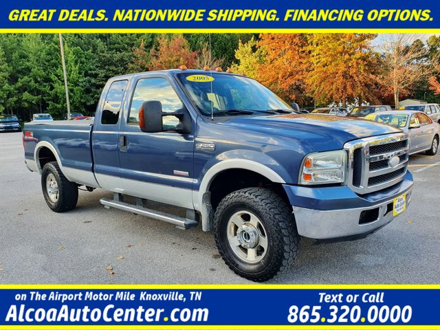 "2005 Ford Super Duty F-250 Lariat 4WD 6.0L V8 TDSL FX4 Pkg Leather/17"" in Louisville, TN 37777"