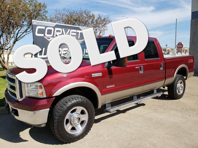 2005 Ford Super Duty F-350 SRW Lariat Crew Cab FX4, Auto, Step Rails, Alloys 214k | Dallas, Texas | Corvette Warehouse  in Dallas Texas