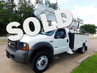 2005 Ford F-550, Bucket/Boom Truck,  XL, working height of 45 feet Irving, Texas
