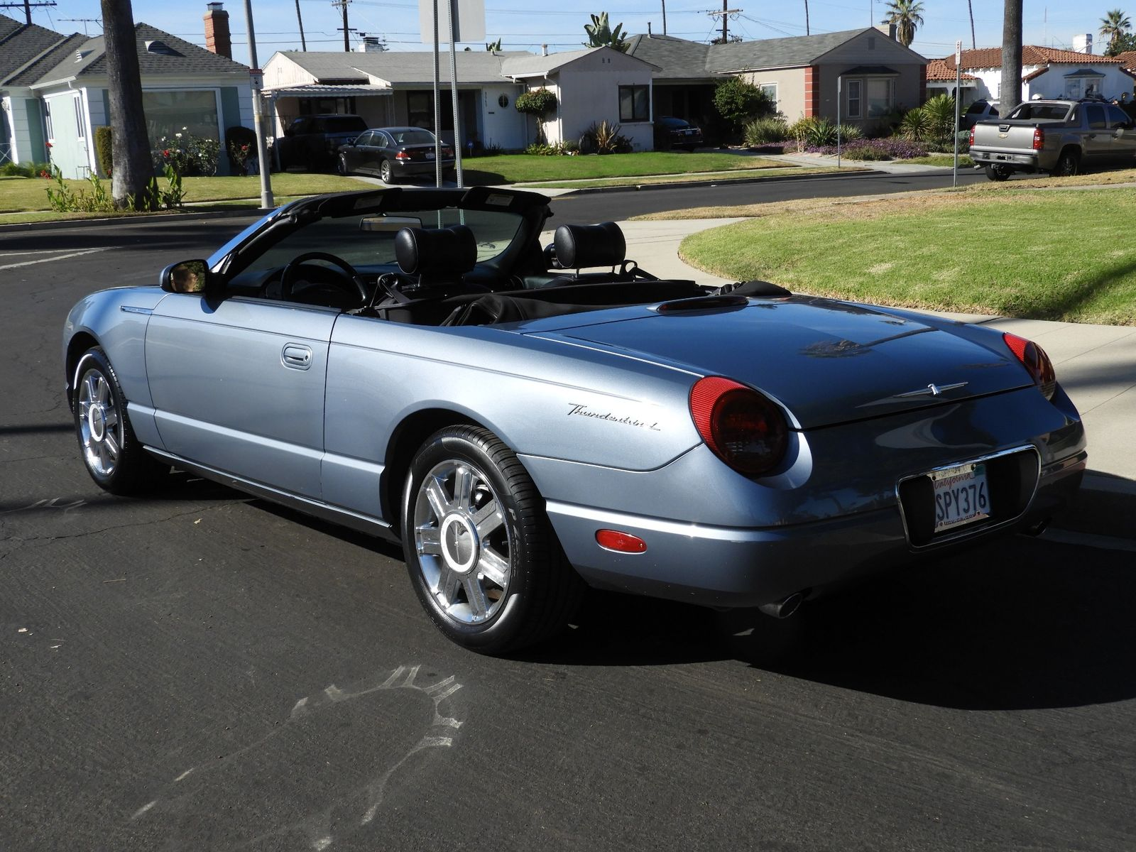 2005 ford thunderbird 50th anniversary city california auto fitness class benz in california