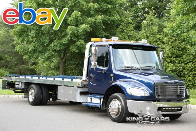 2005 Freightliner M2 Chevron ROLLBACK TURBO DIESEL LOW MILES LOOK