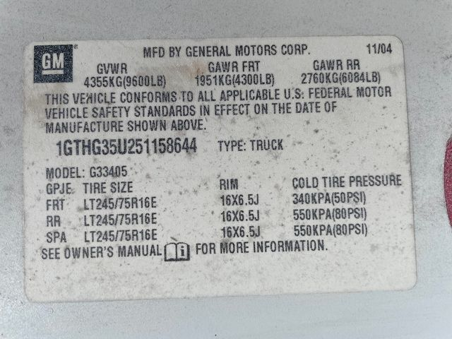 2005 GMC Savana Cargo Van Y3G Mobility Hoosick Falls, New York 6